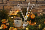 Christmas Luxury White Glass Candle