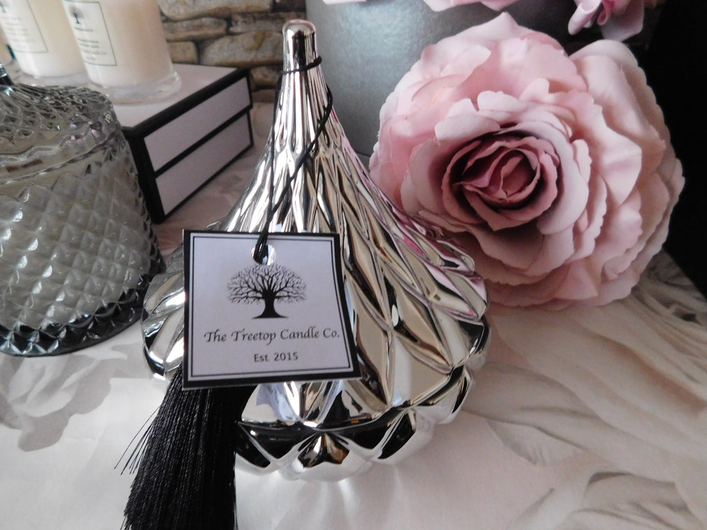 "Hershey Kisses Luxury Candle with ""S"" wick (PLEASE CONTACT ME BEFORE ORDERING REGARDING AVAILABILITY)"