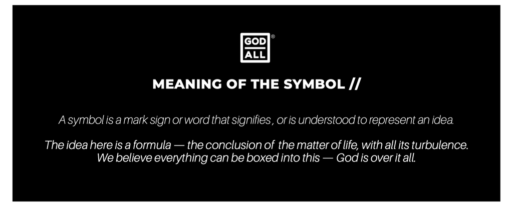 The God Over All Logo Meaning