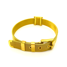 the God over all christian bracelet gold strap