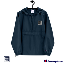 The God Over All Champion windbreaker, navy blue windbreaker, navy blue christian windbreaker, christian clothing, christian apprarel