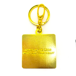 Trust in the Lord with all your heart Christian Keyring