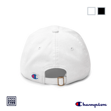 god over all champion dad hat base ball hat  white