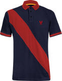 Polo Shirt diagonal strip