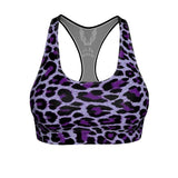 Averi J. Purp Lep Sports Bra