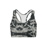 Averi J. Digital Grey Camo Sports Bra