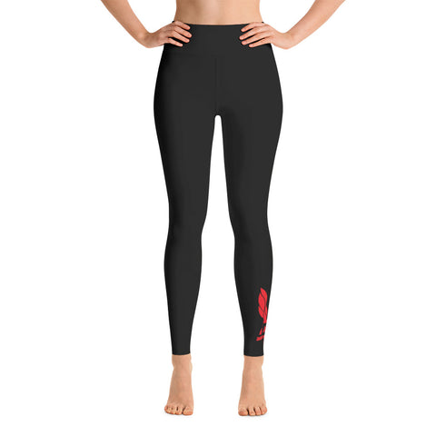 Averi J LOGO Yoga Leggings