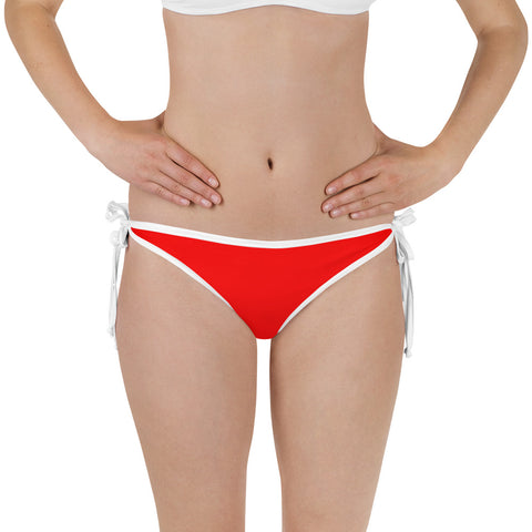 Averi J. Bikini Bottom - Hot Red