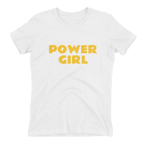 POWER GIRL Women's t-shirt