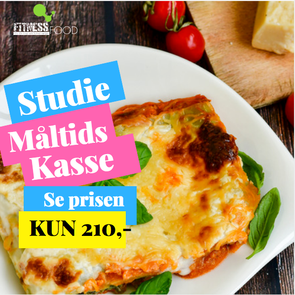 STUDIE KASSEN I en måned - Fitness Food