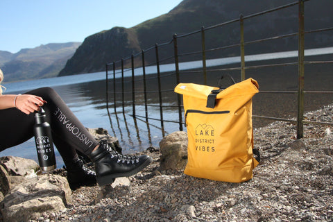 Insulated water bottles with Lake District design