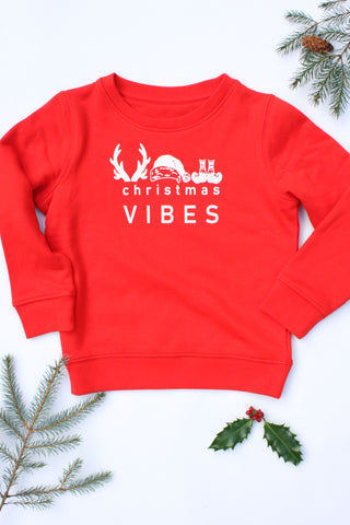 Kids Christmas Vibes Sweater