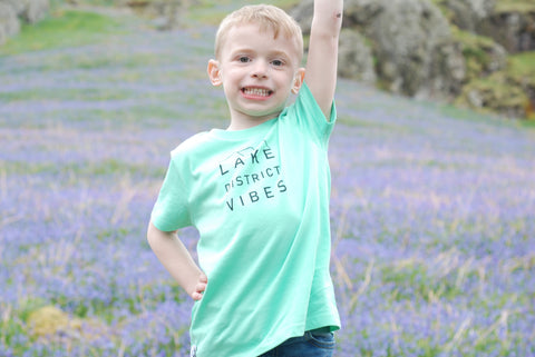 Lake District Vibes Kids Organic Tee