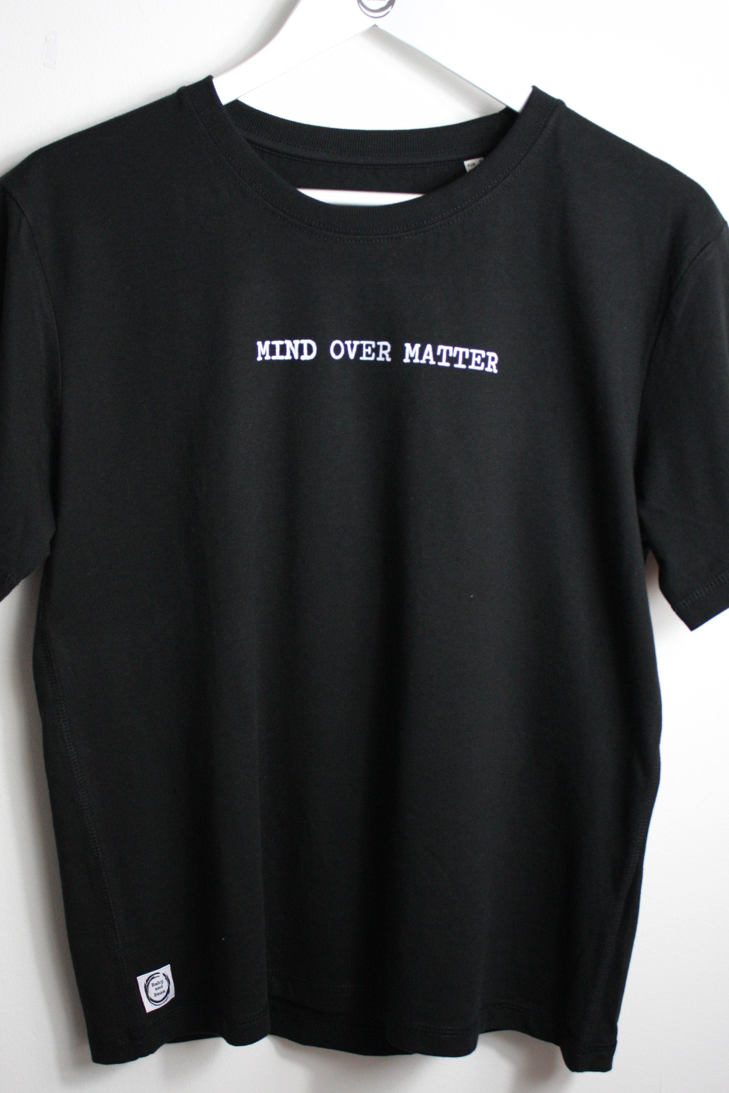 Mind Over Matter Ladies Heavy Tee