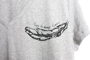 There is Always Hope V Neck Tee