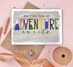 Adventure Awaits Birthday Card