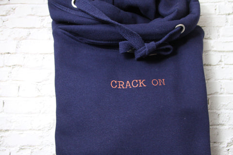 Crack On Cowl neck Hoodie