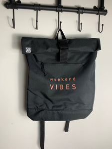 Weekend Vibes Recycled Rucksack