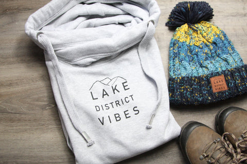 Lake District Vibes Snood Hoodie