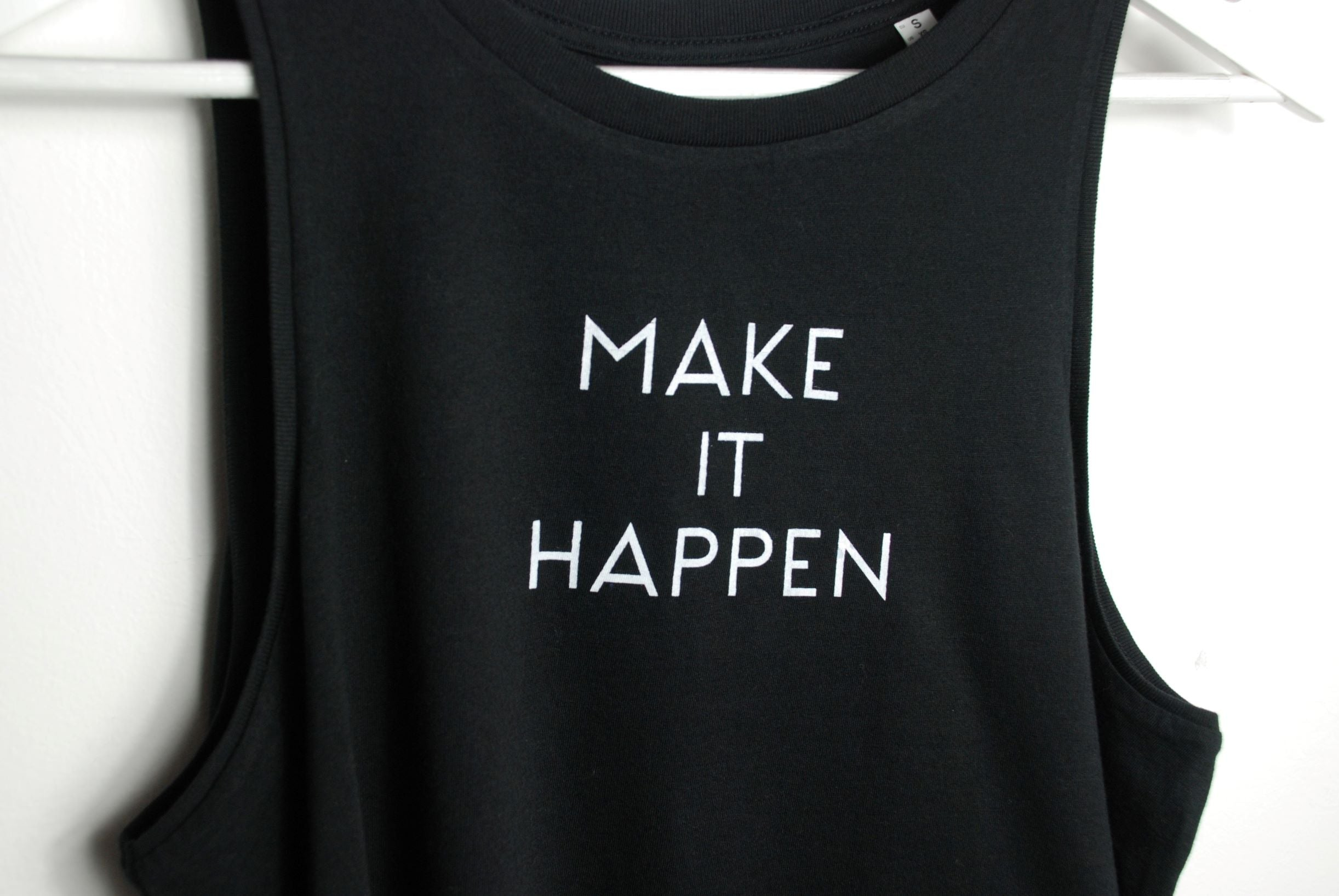 Make It Happen Crop Tank Top
