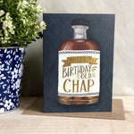 Happy Birthday Old Chap Foiled Card