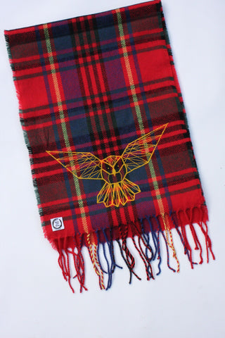 Owl Classic Check Scarf