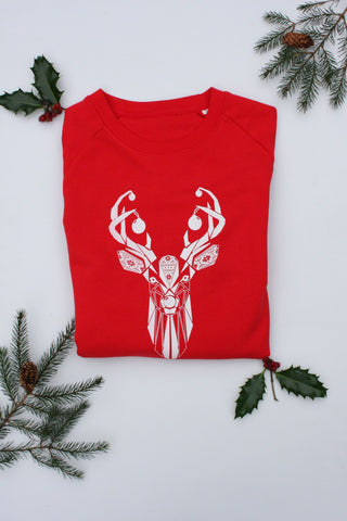 Nordic Stag Organic Sweater