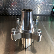 "BVC Billet front hub for 10"" wheel"