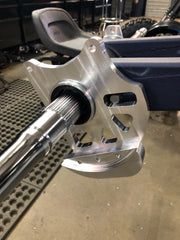 Billet Rear caliper mount + Rotor guard