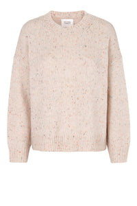 KALLE KNIT O-NECK - PEACHY KEEN