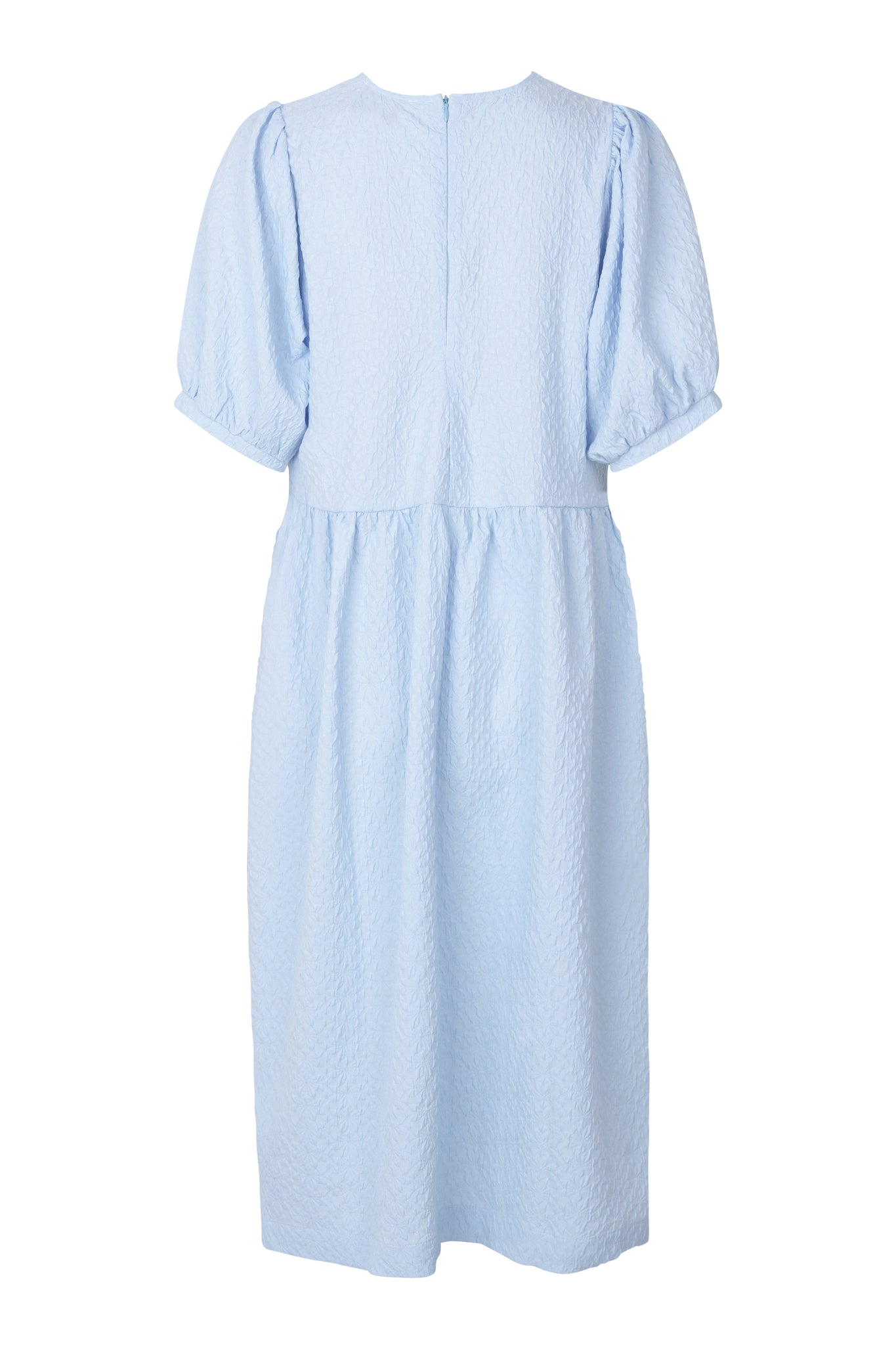 LEAH DRESS - BRUNNERA BLUE