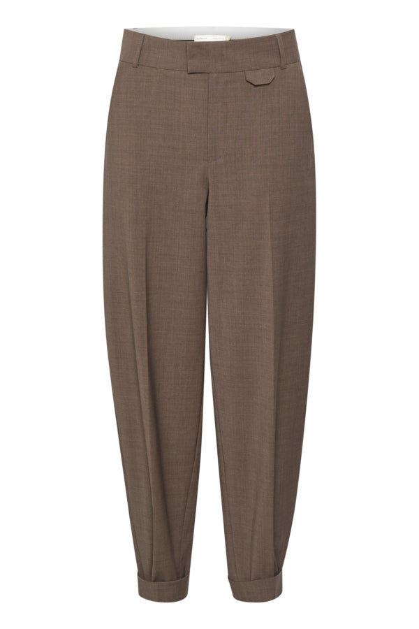 ETERNAL PANTS - BROWN MELANGE