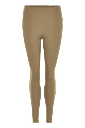 HALO WOMENS HIGHRISE TIGHTS - KELP