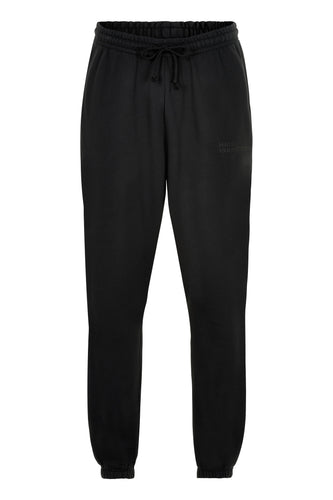 HALO COTTON SWEATPANT - BLACK