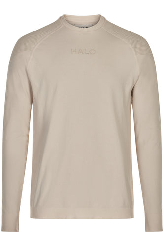 HALO SEAMLESS LONGSLEEVE - BONE WHITE