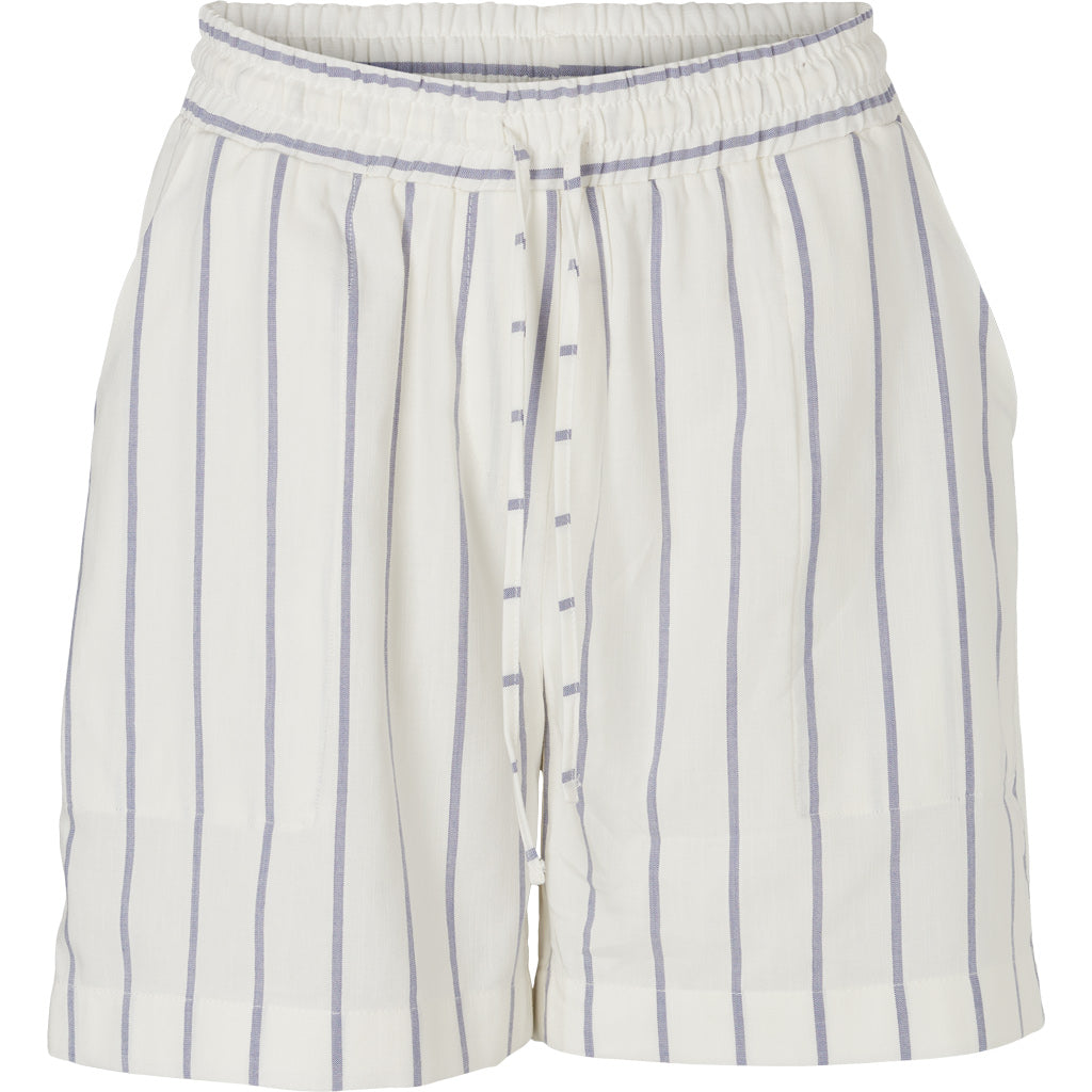 VICKI SHORTS - OFF WHITE/NAVY