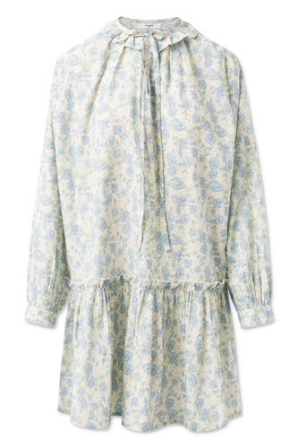 CHEYENNE FLOWER COTTON DRESS - FRAPPE