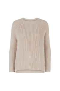 SWEETY SWEATER ORGANIC - SAND