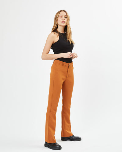 SASSY CLASSIC PANTS - GOLDEN BROWN