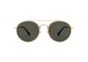 PILOT SUNGLASSES - GOLD GREEN