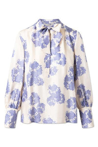 NOAH SILK SHIRT - CLOUD CREAM