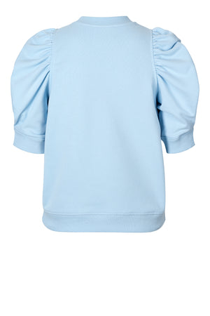MIAMI SWEAT TEE - PALE SKY BLUE