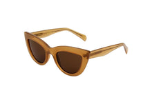 STELLA SUNGLASSES - LIGHT BROWN TRANPARENT