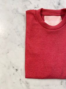 NILUH LS BASIC TEE - RED