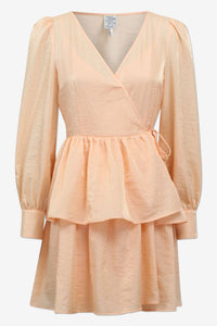 AKEISHA MINI DRESS - ABRICOT SHERBET