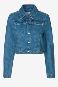 BIXBY DENIM JACKET - VINTAGE WASHED DENIM