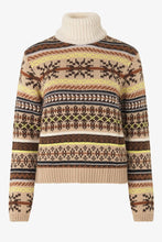 CREEDENCE KNIT SWEATER - FARAO CAMEL