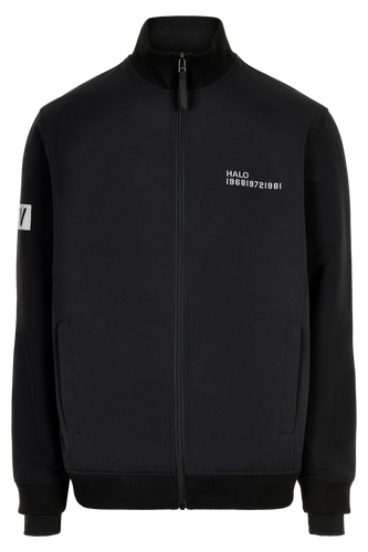 HALO ATW ZIP FLEECE - BLACK