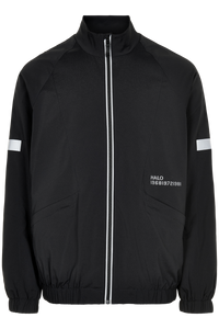 HALO REFLECTIVE TRACK JACKET - BLACK