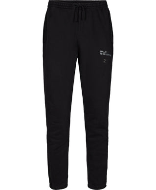HALO COTTON SWEATPANTS - BLACK